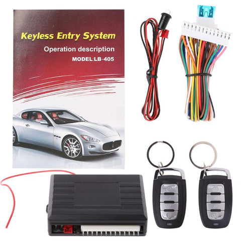 Universal Car Alarm Systems Auto Remote Central Door Locking - Other