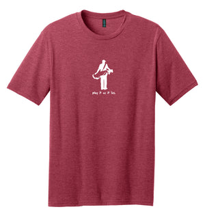 "The ""Golfer"" Golf T-Shirt (50/50) 