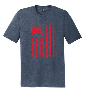 Stymie Nation Flag T-Shirt (Tri-blend)