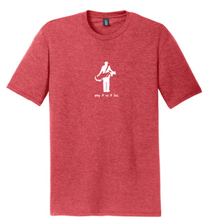 "The ""Golfer"" Golf T-Shirt (Triblend) 