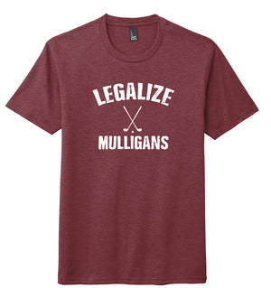 Legalize Mulligans Golf T-Shirt (Tri-blend) | Stymie Clothing Company
