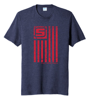 Stymie Nation Flag T-Shirt (60/40) | Stymie Clothing Company