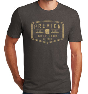 Premier Golf Club T-Shirt (Tri-blend) | Stymie Clothing Company
