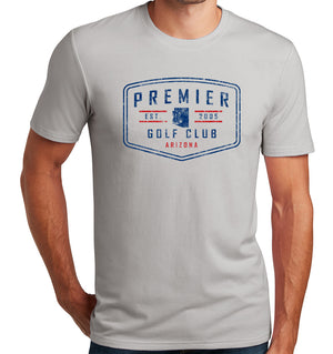 Premier Golf Club T-Shirt (Tri-blend, 2-Color)  | Stymie Clothing Company