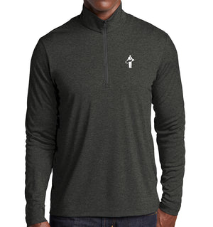 "The ""Golfer"" 1/4 Zip Pullover Lightweight Long Sleeve 