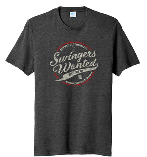 Swingers Wanted V2.0 Golf T-Shirt | Stymie Clothing Company