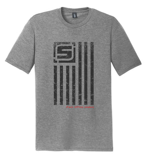 Stymie Nation Flag T-Shirt (Tri-blend) | Stymie Clothing Company