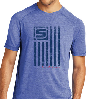 Stymie Nation Flag Activewear T-Shirt | Stymie Clothing Company