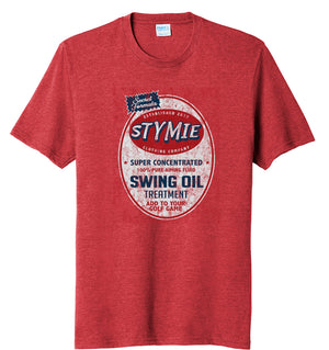 Stymie Swing Oil Brand Golf T-Shirt (60/40) | Stymie Clothing Company