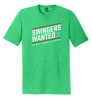 Swingers Wanted Golf T-Shirt (Tri-blend)