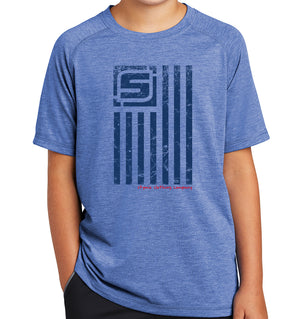 Youth Stymie Nation Flag Activewear T-Shirt | Stymie Clothing Company