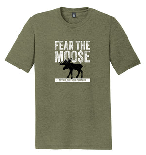 Fear the Moose T-Shirt (Tri-blend) | Stymie Clothing Company