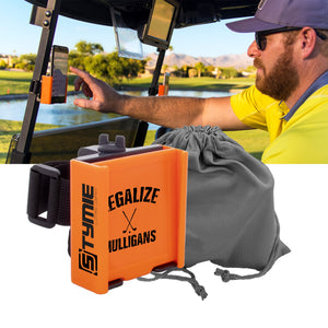 Custom Phone Caddy for Golf Cart | Stymie Clothing Company