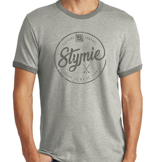 Stymie Play It As It Lies Vintage Ringer T-Shirt (50/50) | Stymie Clothing Company