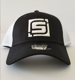 "Stymie ""S"" Stretch Fit Sport Mesh Hat (by New Era)"