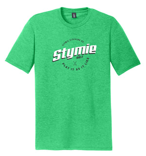 Play It As It Lies Golf T-Shirt Green | Stymie Clothing Company