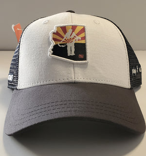 Stymie AZ Golfer Patch Trucker Hat (by Pukka) | Stymie Clothing Company
