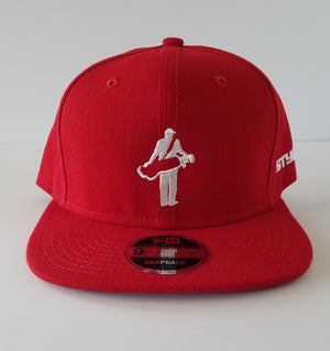 "The ""Golfer"" Flat Bill Snapback Hat (by New Era) 