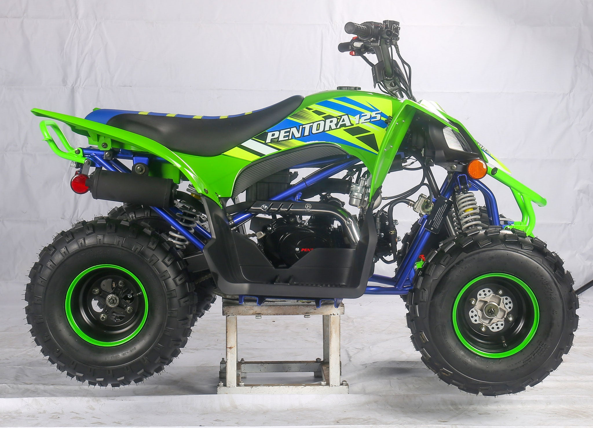 Green Kids 125cc ATV