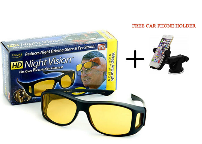 cd2f3018f97 HD Night Vision Sunglass (BUY 1 TAKE 1 WITH FREE CAR PHONE HOLDER ...
