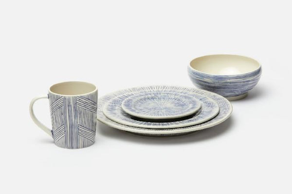 Nolan Hand-Painted Dinnerware 5 Piece Place Setting
