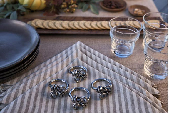 Twisted Vine - Napkin Rings
