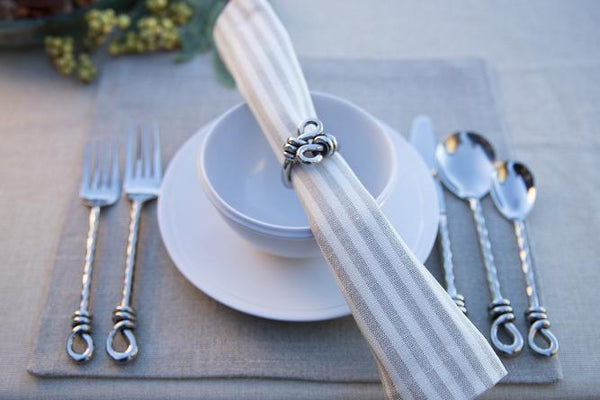 Natural 100% Linen Square Placemats