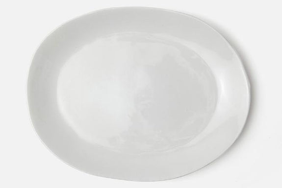 Gelsey White Serving Platter