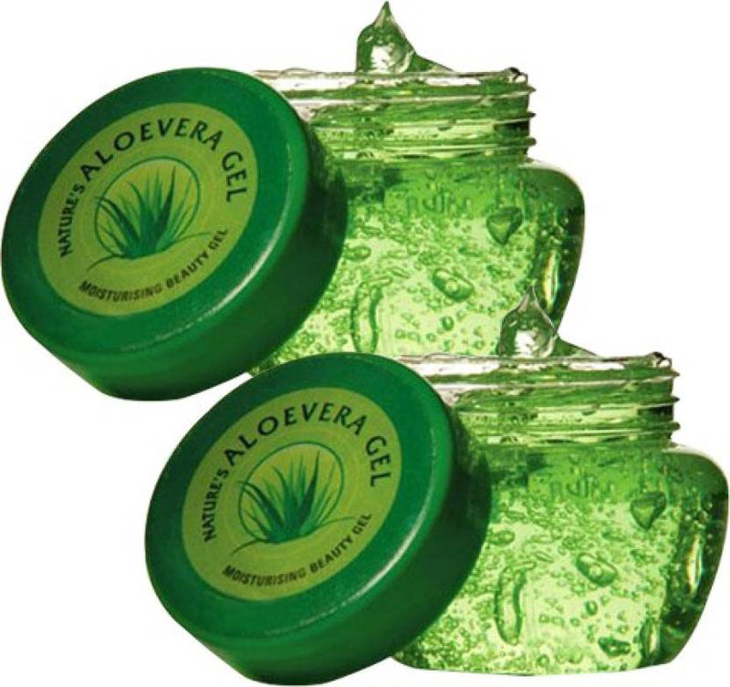 Nature's Aloe Vera Gel Pack of 2 (100 g)