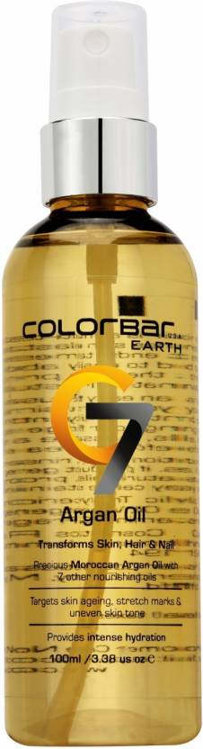 Colorbar C7 Argan Oil 100 Ml Hair Oil (100 ml)
