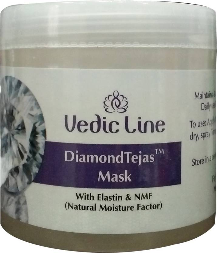 Vedic Line Diamond Tejas Mask with Elastin and NMF (100 ml)
