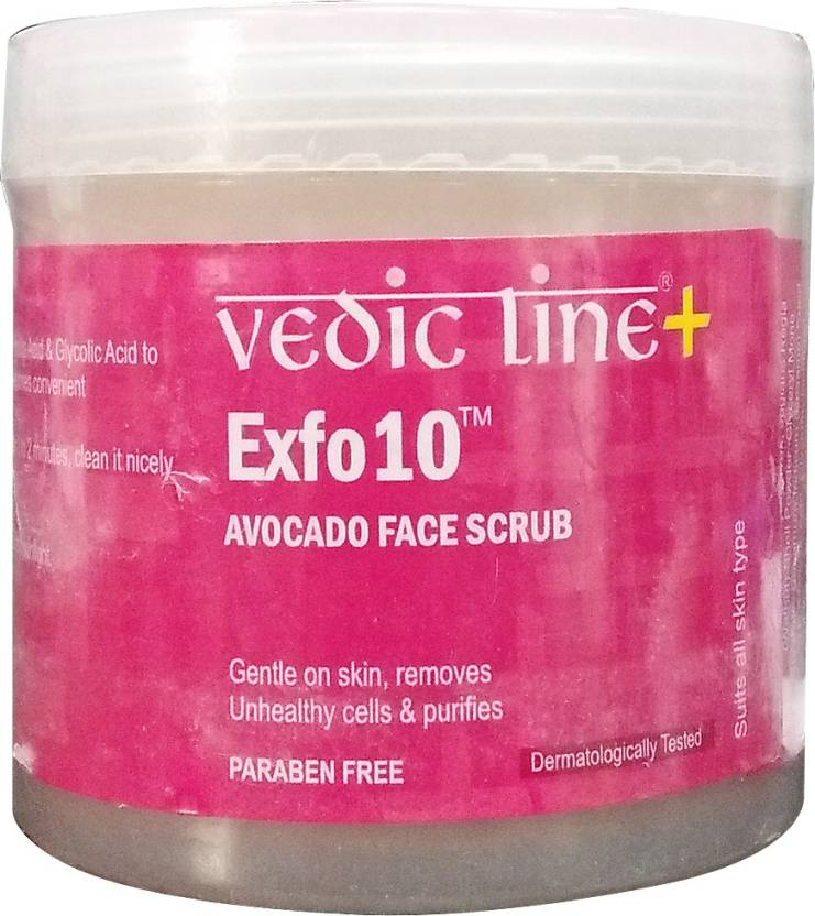 Vedic Line Exfo10 Avocado Face  Scrub (100 ml)