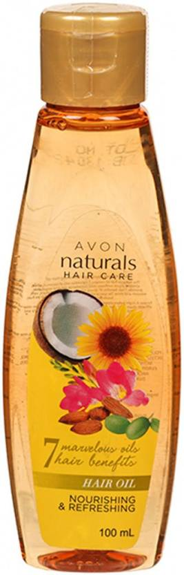 Avon Naturals Hair Oil Nourishing & Refreshing Hair Oil (100 ml)