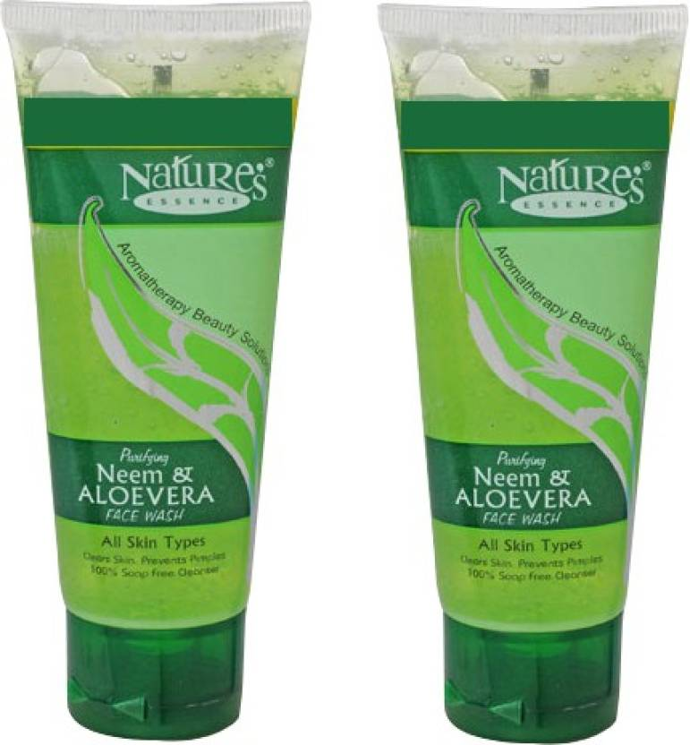 Nature's Neem & Aloe Vera Face Wash pack of 2 Face Wash (100 ml)