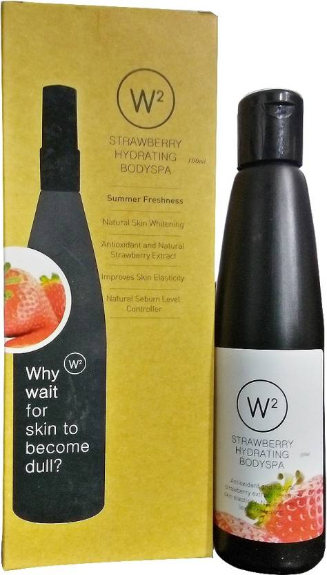 W2 Strawberry Hydrating Body Spa (100 ml)