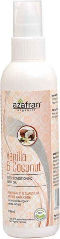Azafran Vanilla & Coconut  Hair Oil (100 ml)