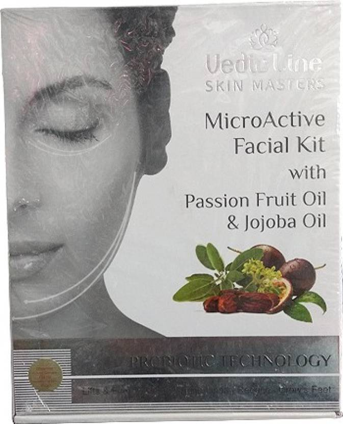 Vedic Line Micro Active Facial Kit 1000 ml (Set of 6)