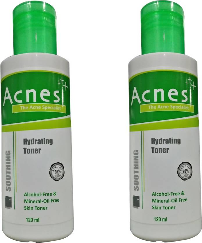 Acnes Hydrating Toner Pack of 2 (120 ml)