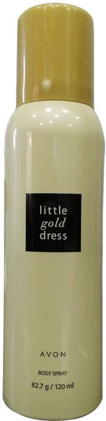 Avon Little Gold Dress Body Spray Body Spray  -  For Women (120 ml)
