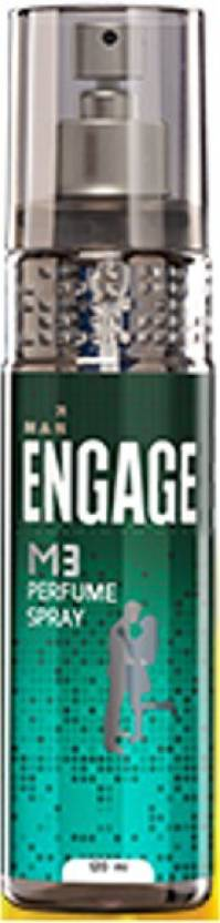 Engage M3 Perfume Body Spray  -  For Men (120 ml)