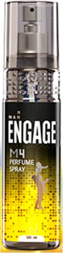 Engage M4 Perfume Body Spray  -  For Men (120 ml)