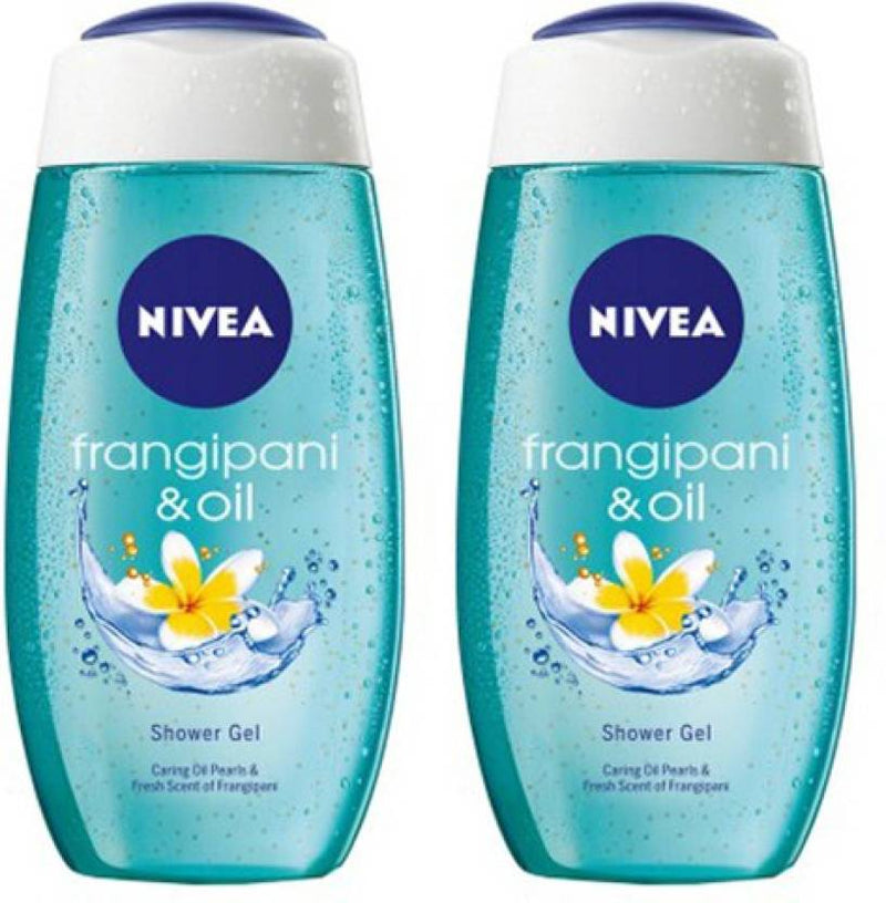 Nivea Frangipani & Oil Shower Gel Pack of 2 (500 ml, Pack of 2)