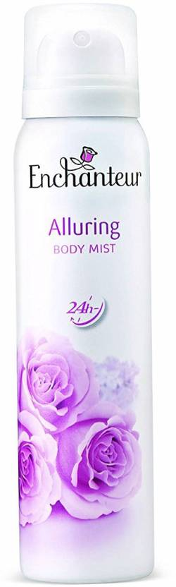 Enchanteur Alluring Body Mist Deodorant Spray  -  For Women (150 ml)