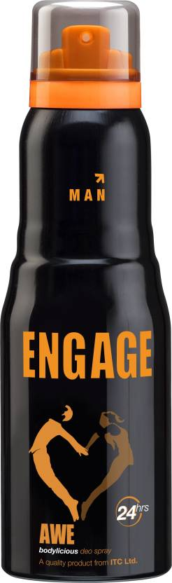 Engage Awe Deodorant Spray  -  For Men (165 ml)