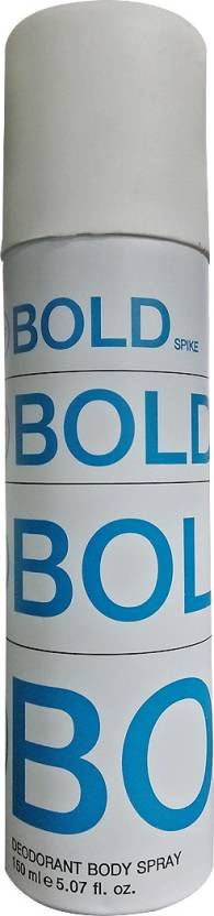 W2 Bold Spike Deodorant Spray  -  For Men & Women (150 ml)