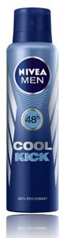 Nivea Men Cool Kick Deodorant Spray  -  For Men (150 ml)