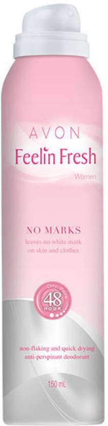 Avon Anew Feelin Fresh No Marks Anti-Perspirant Deodorant Spray  -  For Women (150 ml)