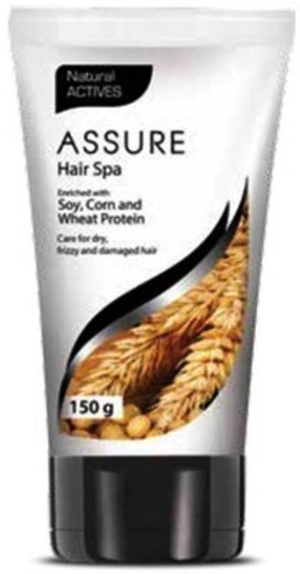 Assure Hair Spa Enriched with Soy, Corn And Wheat Protein (150 g)