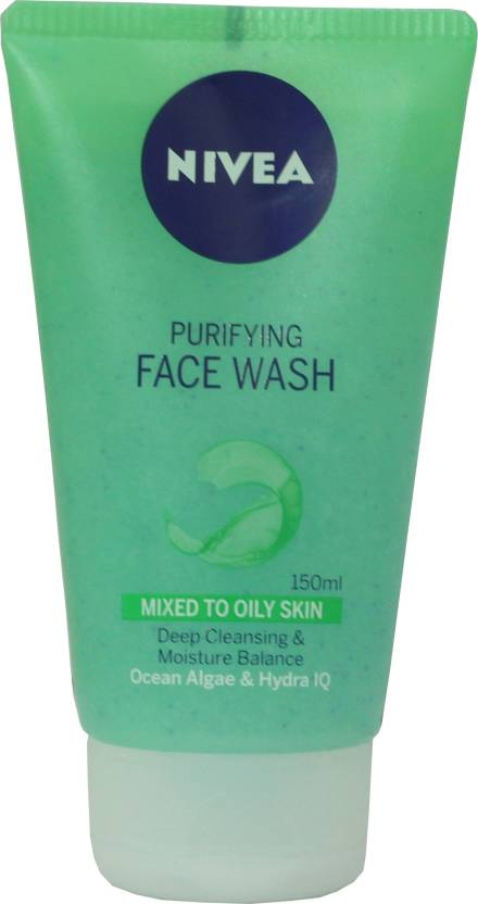 Nivea Purifying face wash for mixed to Oily skin-150 ml Face Wash (150 ml)