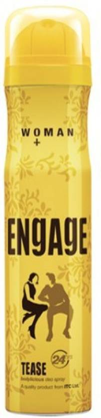 Engage Tease Deodorant Spray  -  For Women (150 ml)